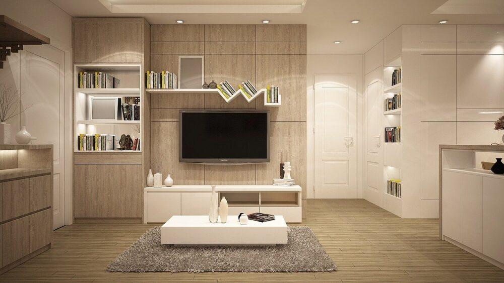 living room dorm-style